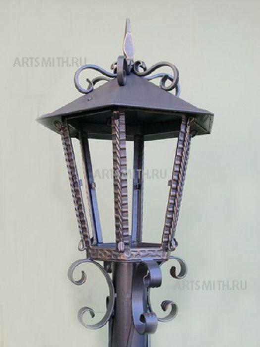 Как сделать металлический фонарь