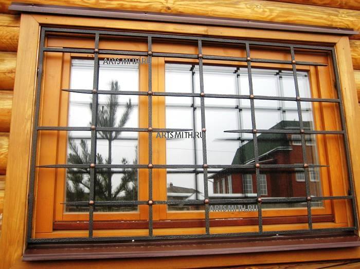 Купить решетки на окна на дачу